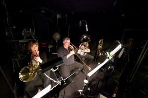 Musicians Perform Behind the Scenes - Photo Credit Al Kay